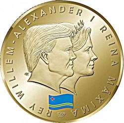 Монета > 5флоринов, 2014 - Аруба  (1 год правления Виллема-Александра) - obverse