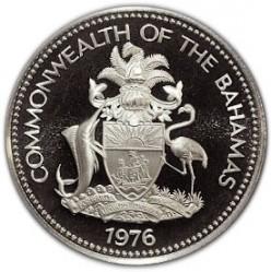 Кованица > 1долар, 1974-1978 - Бахами  - obverse