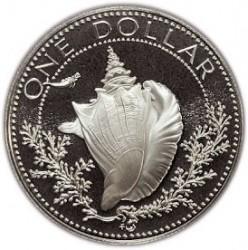 Кованица > 1долар, 1974-1978 - Бахами  - reverse