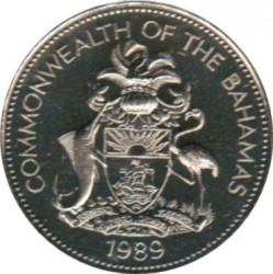 Монета > 1долар, 1981-1996 - Багамські острови  - obverse