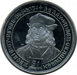 Moneta > 1dollaro, 2008 - Isole Vergini Britanniche  (Kings and Queens of England - Henry VII of England) - reverse