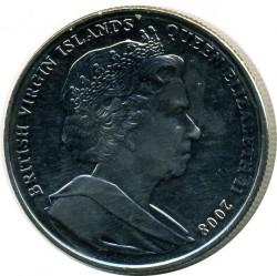 Moneta > 1dollaro, 2008 - Isole Vergini Britanniche  (Kings and Queens of England - Edward III of England) - obverse