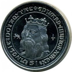 Moneta > 1dollaro, 2008 - Isole Vergini Britanniche  (Kings and Queens of England - Edward III of England) - reverse