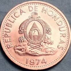 Кованица > 2цента, 1974 - Хондурас  - obverse