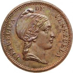 Moneda > ¼centavo, 1852 - Venezuela  (Sin marca de ceca) - obverse