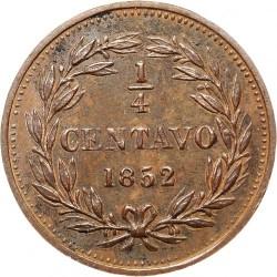Moneda > ¼centavo, 1852 - Venezuela  (Sin marca de ceca) - reverse