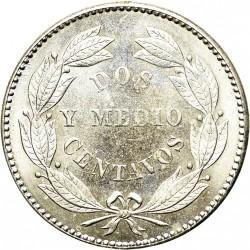 Moneta > 2½centavos, 1876-1877 - Wenezuela  - reverse