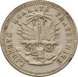 Moneda > 5centimes, 1889 - Haití  - reverse