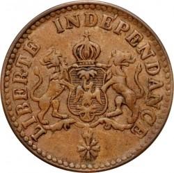 Moneda > 1céntimo, 1850 - Haití  (W/o AN47 on obverse) - obverse