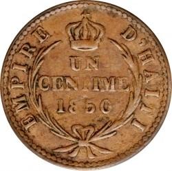 Moneda > 1céntimo, 1850 - Haití  (W/o AN47 on obverse) - reverse