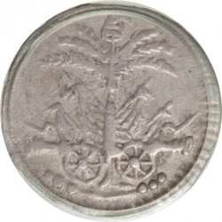 Moneta > 6centymów, 1813 - Haiti  - obverse