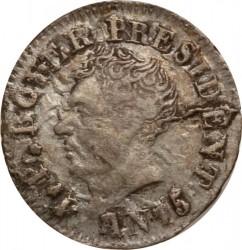Moneta > 6centymów, 1818 - Haiti  - obverse