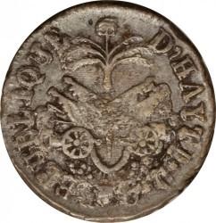 Moneta > 6centymów, 1818 - Haiti  - reverse