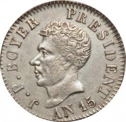Moneta > 25centymów, 1818 - Haiti  - obverse