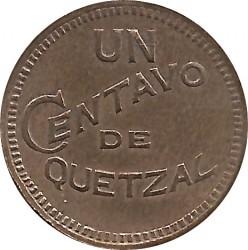 מטבע > 1סנטאבו, 1925 - גוואטמלה  - reverse