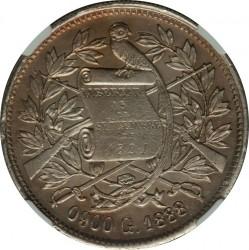 Moneda > 1peso, 1888-1889 - Guatemala  - obverse