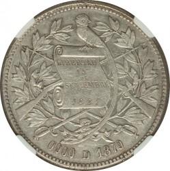 Монета > 1песо, 1879-1893 - Гватемала  - obverse
