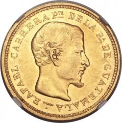 Монета > 8песо, 1864 - Гватемала  - obverse
