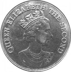 Moneta > 10dollari, 1985 - Grenada  (Elisabetta II) - obverse