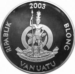 Moneta > 50vatu, 2003 - Vanuatu  (XXVIII Giochi olimpici estivi, Atene 2004) - obverse