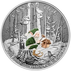 Moneta > 25dolarów, 2016 - Kanada  (Leśny elf) - reverse