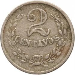 Moneda > 2centavos, 1921 - Colòmbia  - reverse