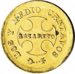 Moeda > 2½centavos, 1901 - Colômbia  - obverse