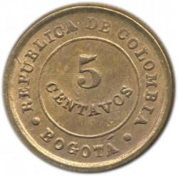 Mynt > 5centavos, 1901 - Colombia  - reverse