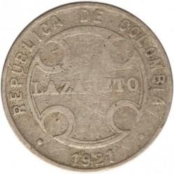 Mynt > 5centavos, 1921 - Colombia  - obverse