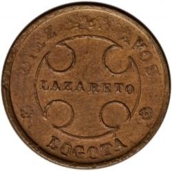 Coin > 10centavos, 1901 - Colombia  - obverse