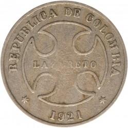 Coin > 50centavos, 1921 - Colombia  - obverse