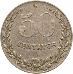 Mynt > 50 centavos, 1921 - Colombia  - reverse
