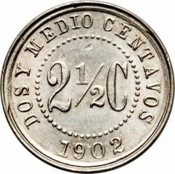 Monedă > 2½centavo, 1902 - Columbia  - reverse