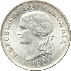 Monedă > 50centavo, 1888-1908 - Columbia  - obverse