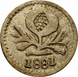 Monēta > ¼decimo, 1868-1881 - Kolumbija  - obverse