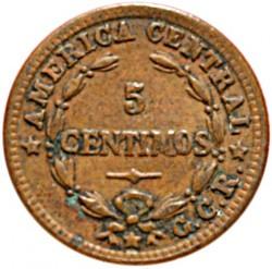 Монета > 5сентимос, 1929 - Коста Рика  - reverse