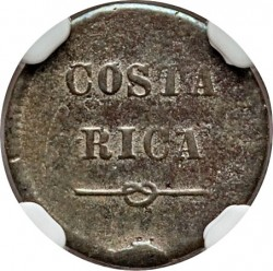 Монета > ¼сентаво, 1865 - Коста-Ріка  - obverse