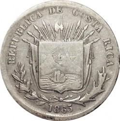 Moeda > 25centavos, 1864-1875 - Costa Rica  - obverse