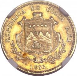 Moeda > 2pesos, 1876 - Costa Rica  - obverse