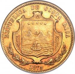 Munt > 20pesos, 1873 - Costa Rica  - obverse