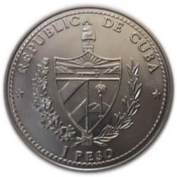 Moneda > 1peso, 1992 - Cuba  (500th Anniversary - Discoveryof America. Philip I) - reverse