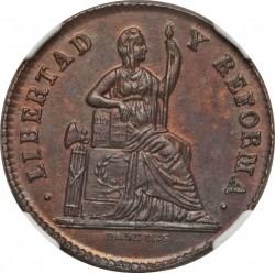Монета > 1сентаво, 1863 - Мексико  - obverse