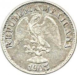 Moneda > 10centavos, 1898-1905 - México  - obverse
