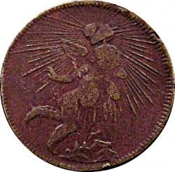 Moneda > ⅛real, 1825-1863 - México  - reverse