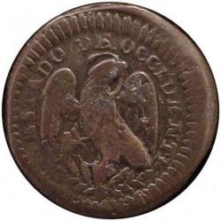 Moneta > ⅛real, 1828-1829 - Messico  - obverse
