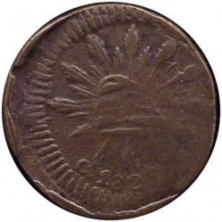 Moneda > ⅛ral, 1828-1829 - Mèxic  - reverse