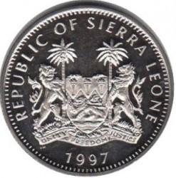 Moneta > 1dolar, 1997 - Sierra Leone  (Lew) - obverse