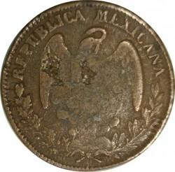 Νόμισμα > ⅛Ρεάλ, 1845-1847 - Μεξικό  - obverse