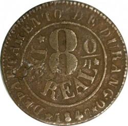 Moneda > ⅛ral, 1845-1847 - Mèxic  - reverse