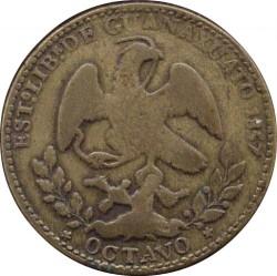 Moneda > ⅛real, 1856-1857 - México  - obverse